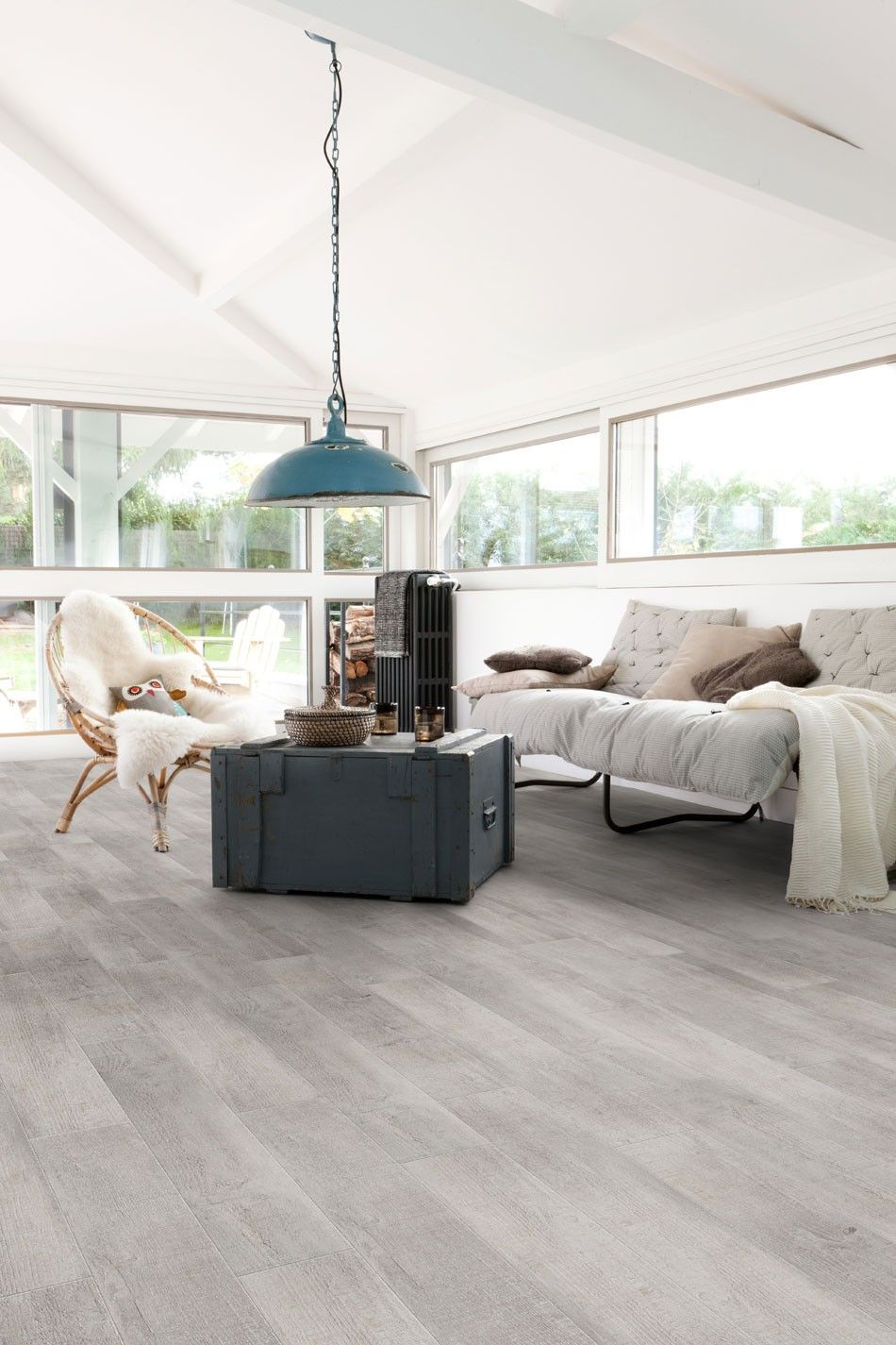 Home plus Stick - New washed: Zelfklevende pvc laminaat vloer ...