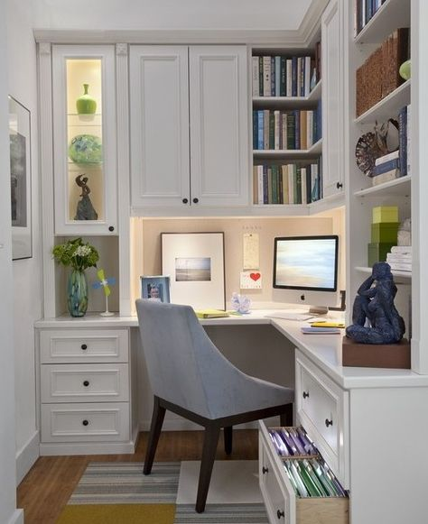 Office Nook This Looks Like A Space I D Love Small Home Offices