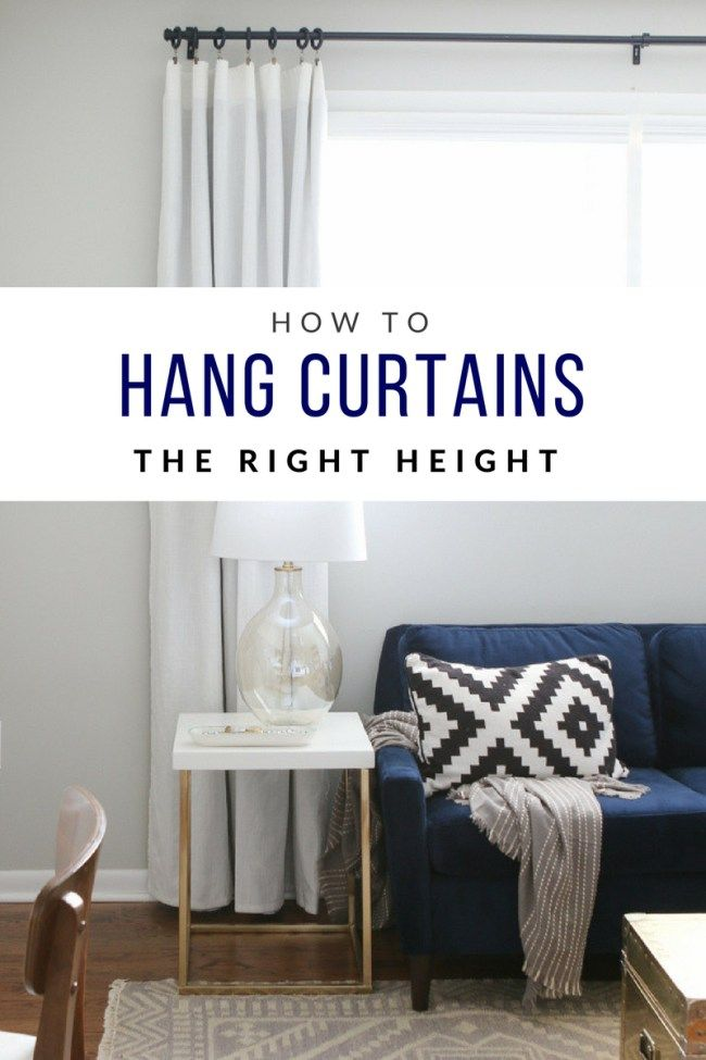 How To Hang Curtains To Transform Your Windows The Diy Playbook Curtains Over Blinds Sewing Room Decor Hanging Curtains