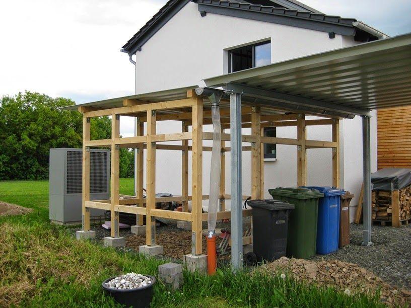 Hausprojekt Werkstatt Schuppen Carport Marios Teilmarios Werkstatt Hausprojekt Carport Schuppe With Images Apartment Decor Inspiration Outdoor Structures Carport