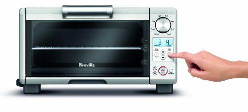 Breville Bov450xl Mini Smart Oven Element Iq Review Breville Toaster Oven Smart Oven Toaster Oven Reviews