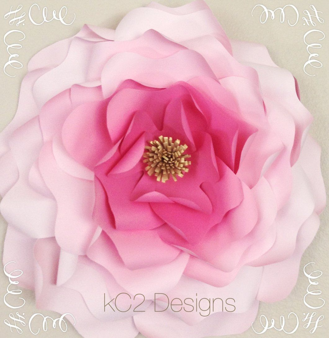 Giant Paper Flower Jumbo Paper Flowers Paper Flowers Your Colors