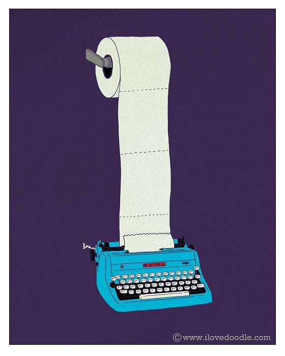 typewritertoiletpaper