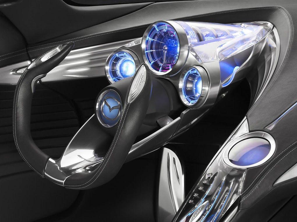 2007 Mazda Ryuga Futuristic Dashboard Concept Car Futuristic