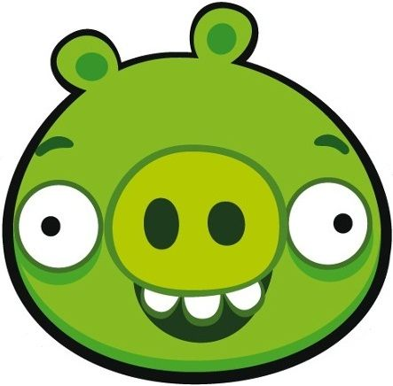 angry birds piggies image pig front jpg angry birds wiki the rh pinterest com