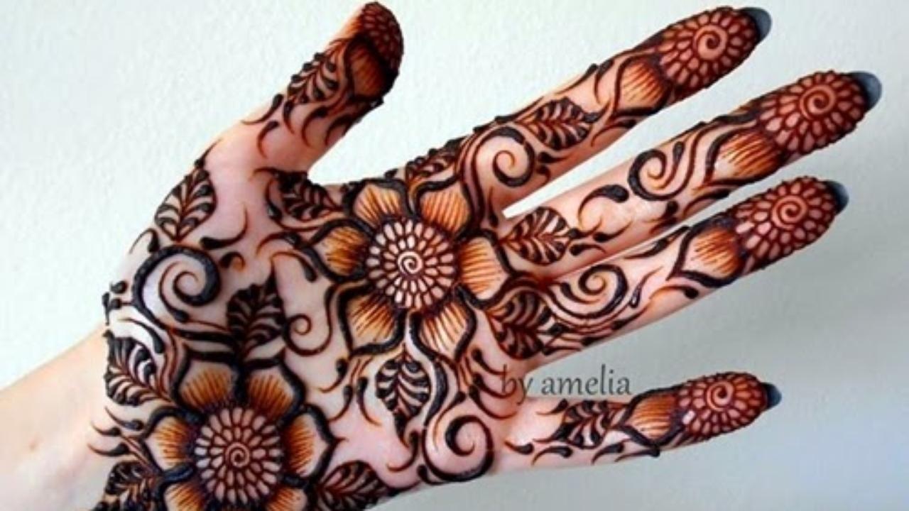 Bridal Mehndi On Dailymotion : Simple method to make a henna strip design video dailymotion