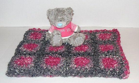 Handmade Alpaca Mohair Blanket  crochet @CrochetRagRug on Etsy #integrityTT #etsyspecialT #Etsymntt #promobine