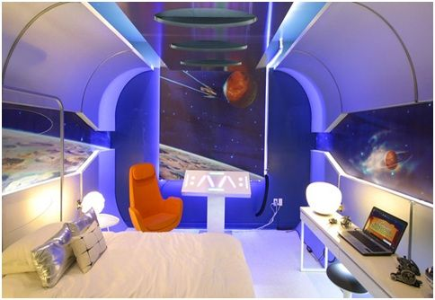 STARSHIP BEDROOM EXTREME MAKEOVER HOME EDITION BOYS ...