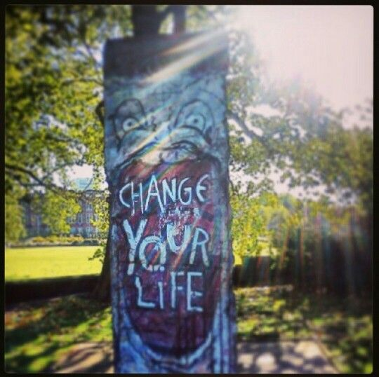 Change your life. London.