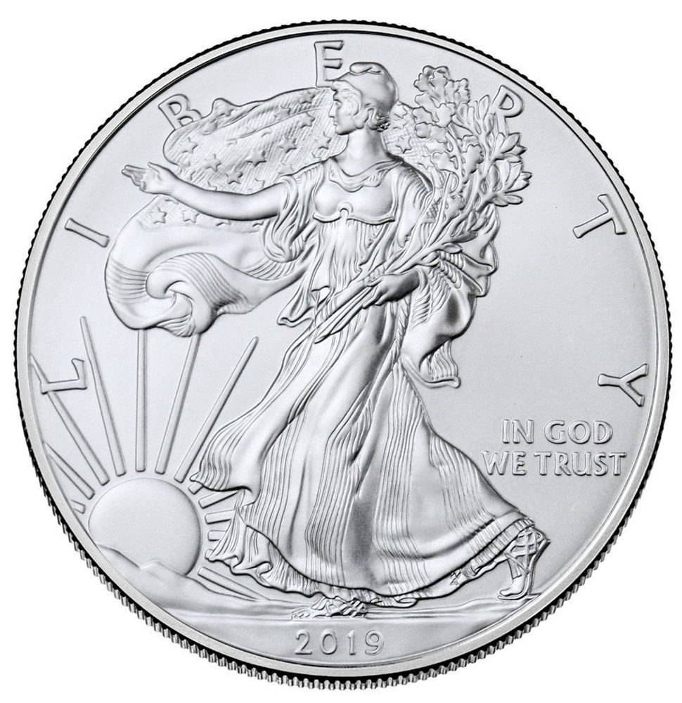 Details About 2019 1 Oz American Silver Eagle 1 Gem Bu Sku55748 Silver Eagle Coins Silver Bullion Coins Silver Bullion