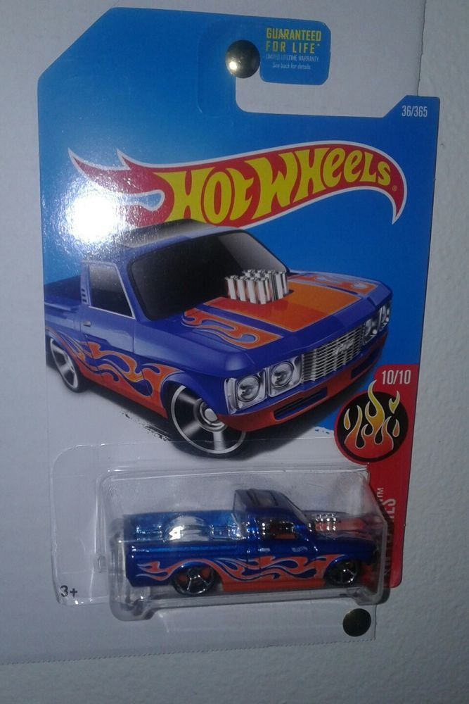 2015 Hot Wheels Diecast Custom 72 Chevy Luv Truck 3 Flames