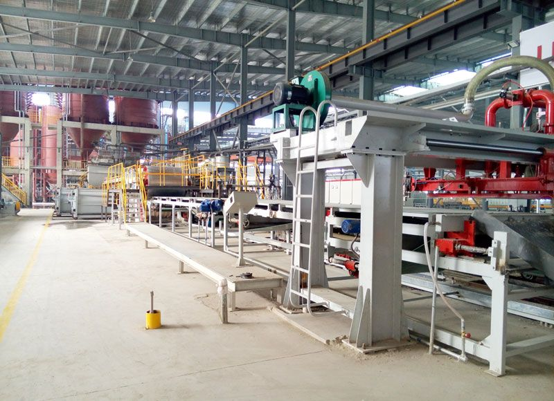 Fiber Cement Board Production Line (Turnkey Project) - China Calcium silicate EPS board, CMT