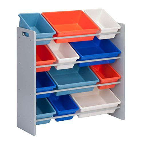 Honey-Can-Do SRT-01602 Kids Toy Organizer and Storage Bins images
