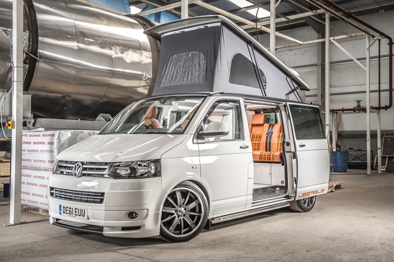 home vw t5 camper and campervan conversions for transporters by uberbus dorset www. Black Bedroom Furniture Sets. Home Design Ideas