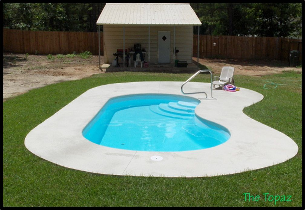 Pin by yuliaman aden rais on feel likes home pinterest for Inexpensive in ground pool ideas