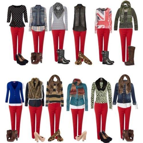 Leggings Esta Es Mi Moda Red Pants Outfit Red Jeans Outfit Red Leggings Outfit