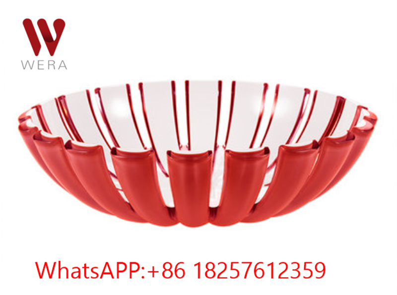 Two Color Plastic Bowl Made In San 2k Fruit Bowl Two Color
