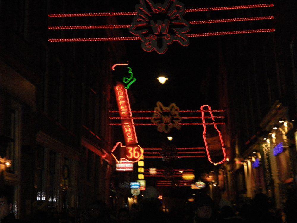 De Wallen Red Light District Amsterdam Noord Holland The