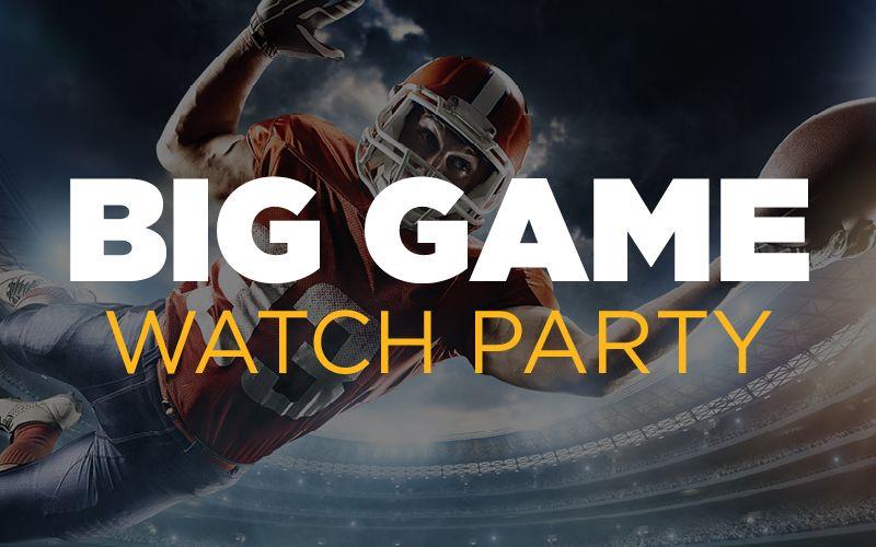 BigGameWatchPartyWebImage in 2020 Sports betting