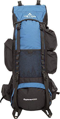 TETON Sports Explorer 4000 Internal Frame Backpack  Free Rain Cover  Included http    e19cbc0280e1a