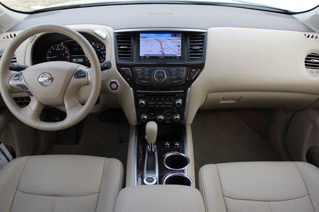 Inside The 2013 Nissan Pathfinder 2013 Nissan Pathfinder Nissan Pathfinder Nissan