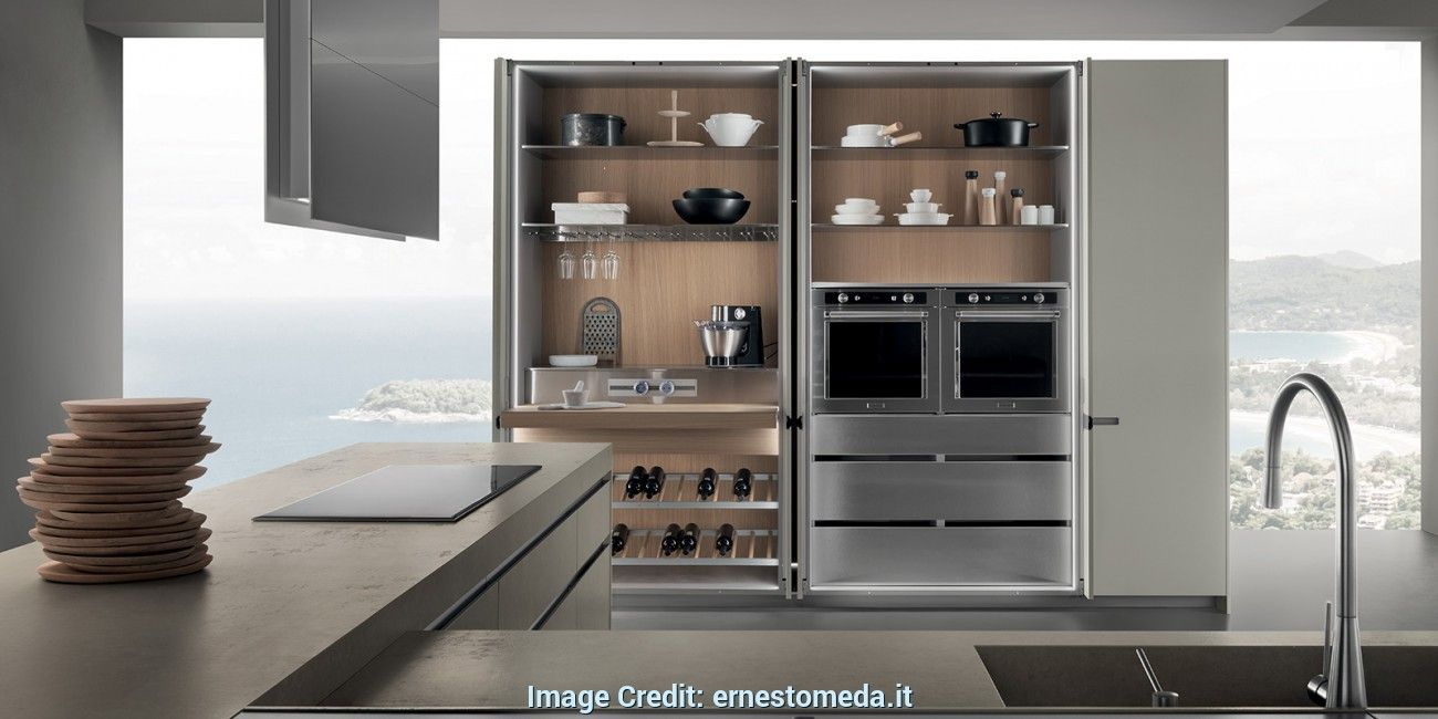 Attraente Dispensa Cucina A Scomparsa | cucine | Pinterest