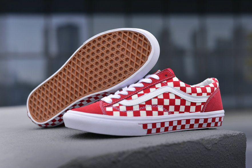 buy \u003e vans style 36 red checkerboard