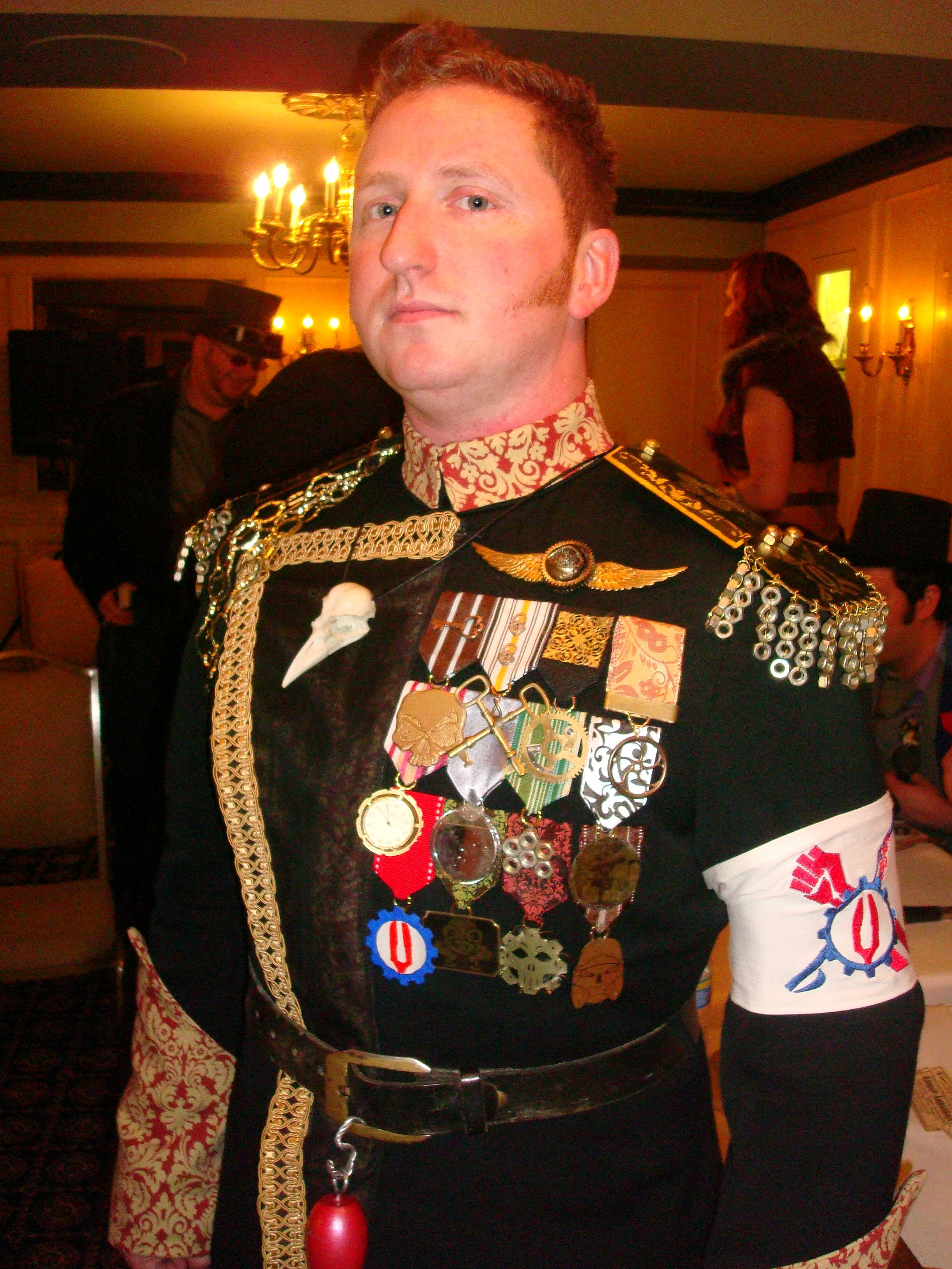 This gentleman of the Red Fork Empire has some truly EXCELLENT medals.
