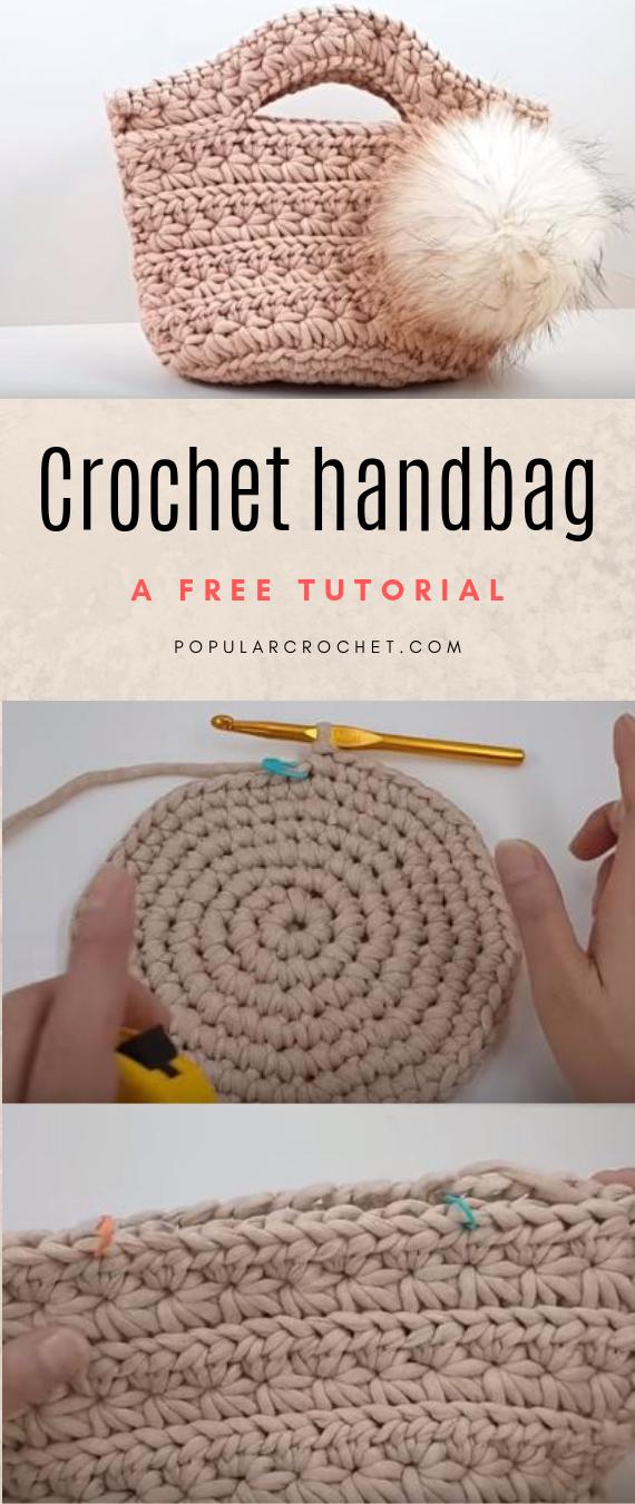 Crochet handbag #crochethandbags
