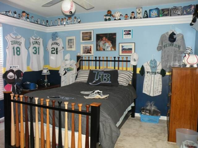 Our Rays Baseball Guest Room