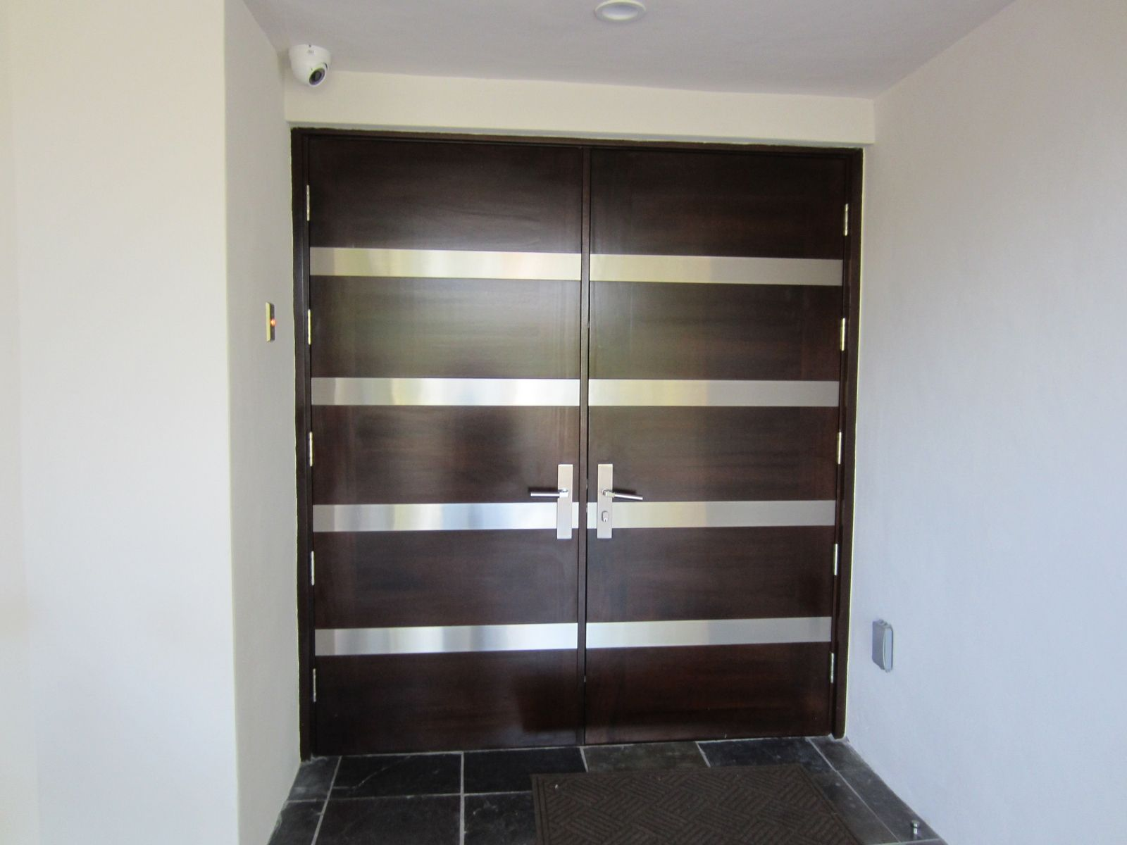 Contemporary entry doors hand crafted contemporary entry Outside door design
