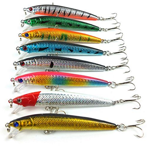 10cm eight.5g minnow fishing lures exhausting bait plastic fishing, Hard Baits