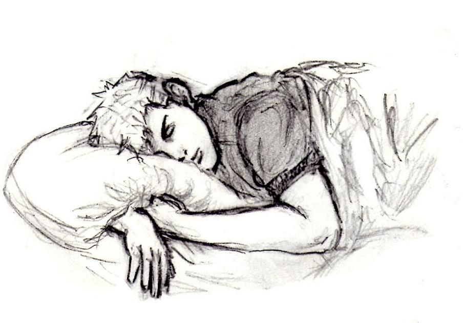 Sleeping Jace Person Drawing Person Sketch Sleeping Drawing