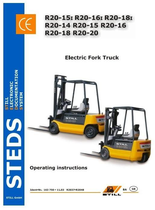 fork lift electric motor wiring diagram original illustrated factory operating and maintenance  original illustrated factory operating