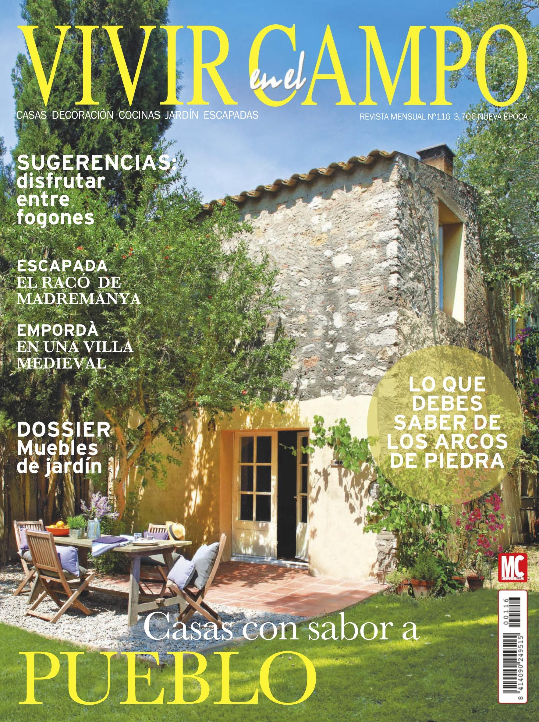 Revista VIVIR EN EL CAMPO 116. #Casas con sabor a #pueblo. Dossier ...