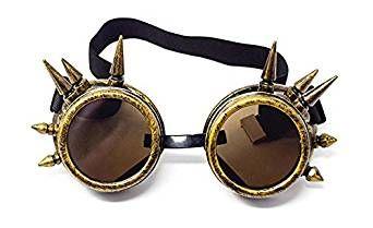 ( Bronze ) Sonnenbrille Viktorianische Ära Steampunk Victorian Gothic Gogless Welding New KLoGF4G