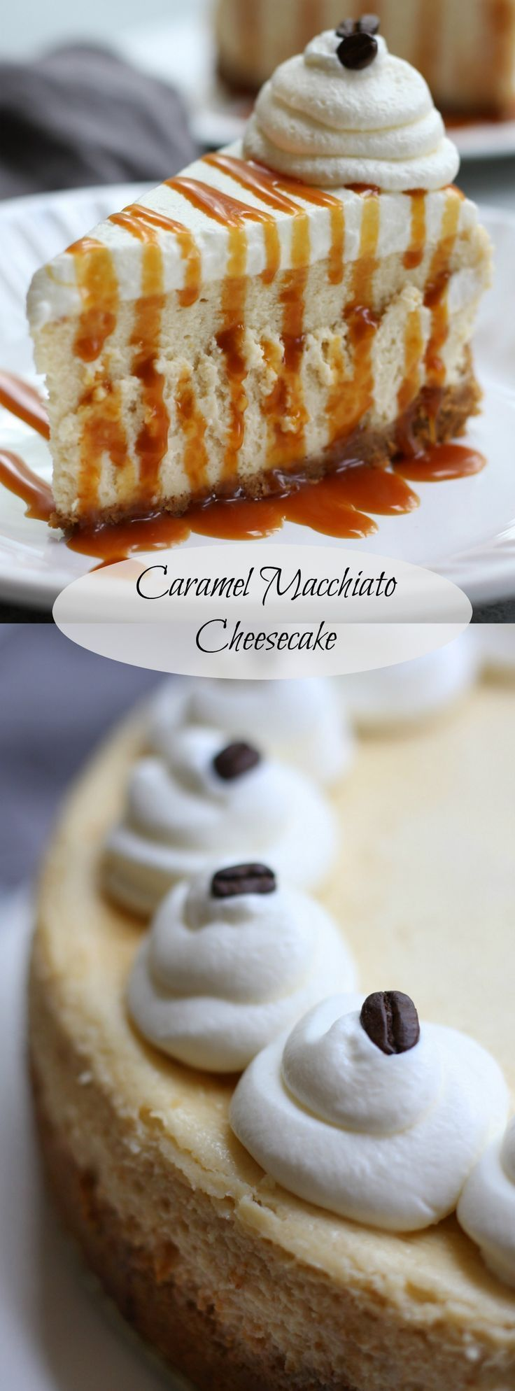 Caramel Macchiato Cheesecake recipe creates a silky