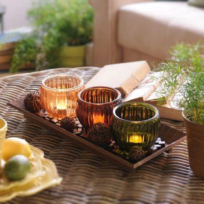 Wooden 3 Candle Centerpiece Kirkland S Candle Centerpieces Dining Room Table Centerpieces Dining Table Centerpiece