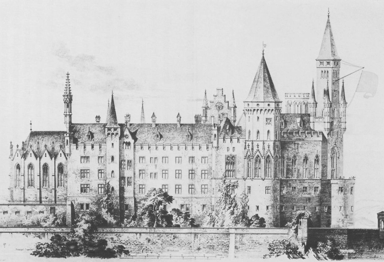 Burg Hohenzollern German Architecture Architecture Drawing French Architecture
