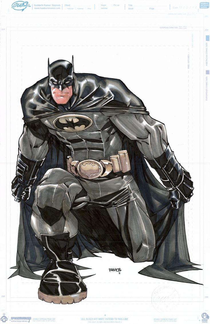 Batman by Humberto Ramos