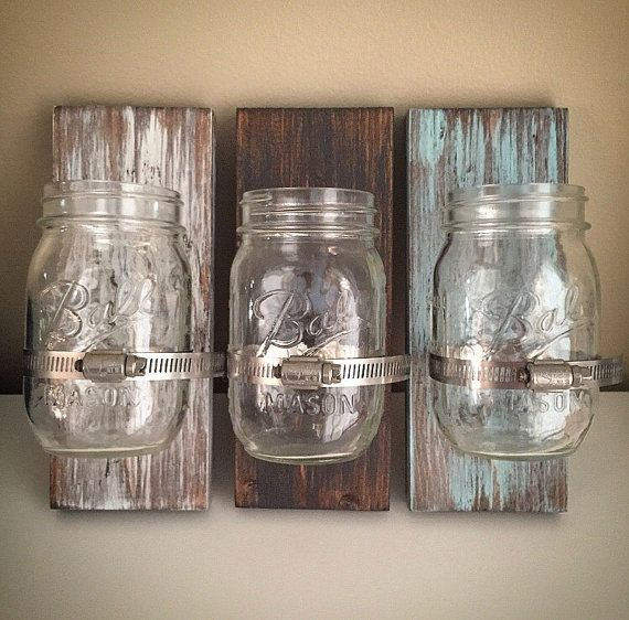 Custom Ball Mason Jar Holders - 3.5x9 Wooden Glass Jar ...