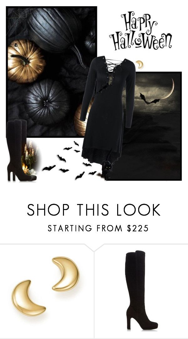"""Halloween Night - Pumpkins"" by melissaandjasperforever ❤ liked on Polyvore featuring Bloomingdale's and Dune"