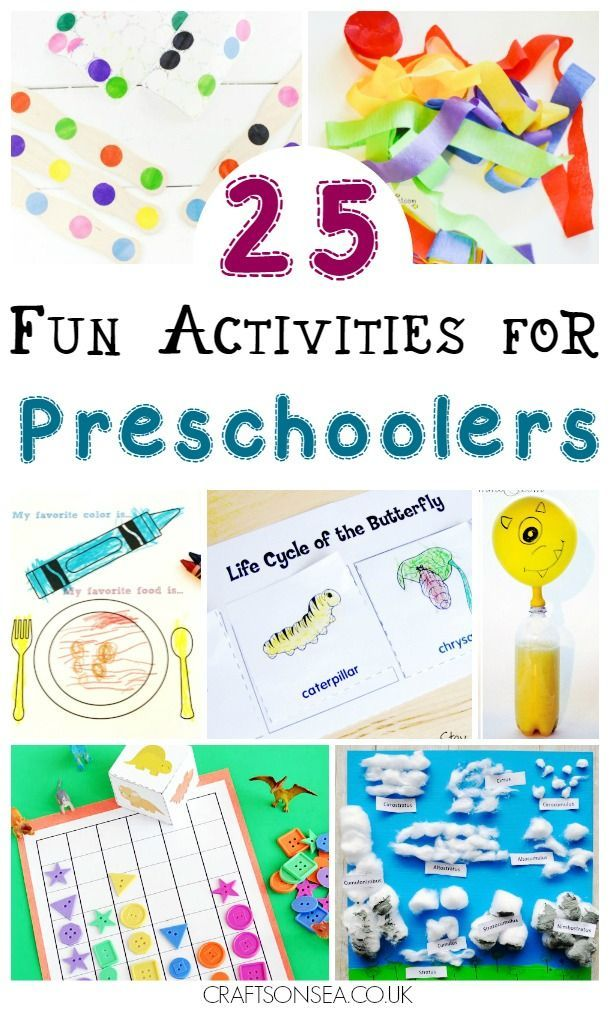 Activities for Preschoolers: 25 Fun Ideas Kids Love | Math ...