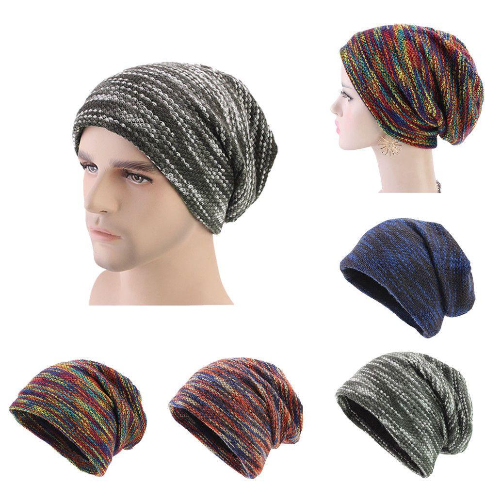 511c49549f8df7 Unisex Women Men Winter Beanie Baggy Warm Hats Wool Ski Cap Fleece Line  Casual #fashion