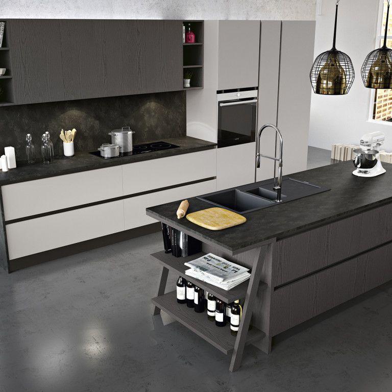 Cucine moderne con isola nel nostro negozio a padova - Cucine a padova ...