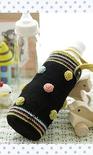 Bottle Cover Pattern By Pierrot Gosyo Co Ltd Crochet Bags