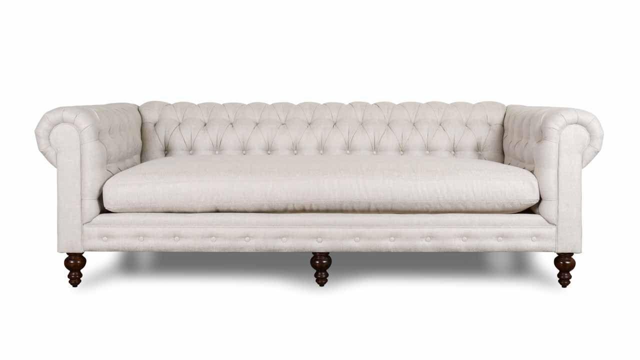 Classic Chesterfield Fabric Sofa Made In Usa Fabric Sofa