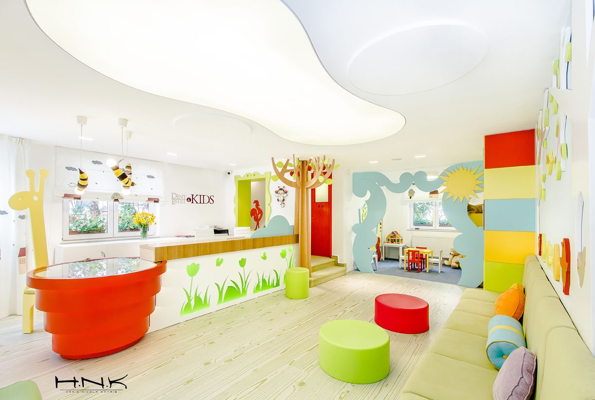 Kid dental chairs - Dental Clinic For Children With A Gorgeous Design Dent Estet 4 Kids Hamid Nicola Katrib