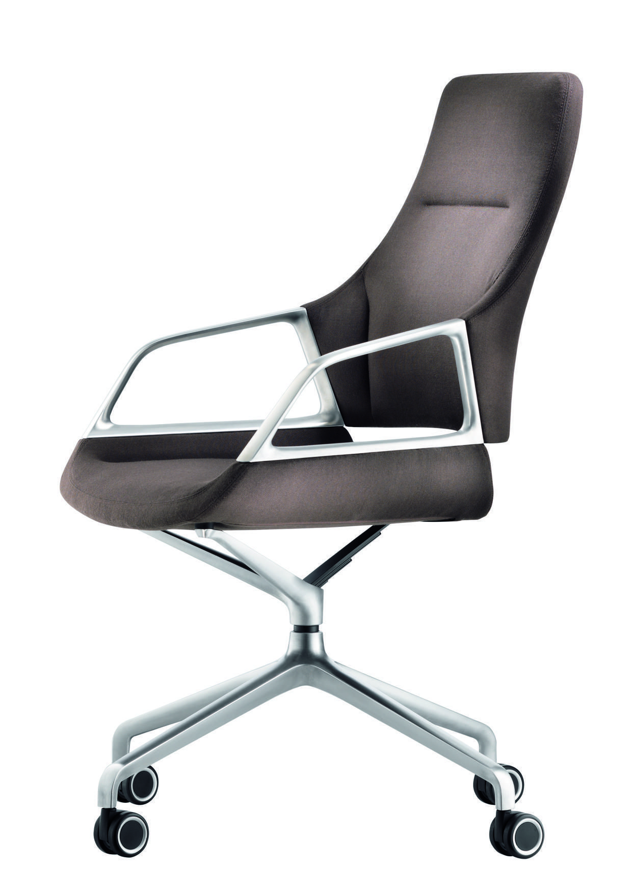Wood conference chairs - Graph Conference Chair On Castors Design By Jehs Laub By Wilkhahn