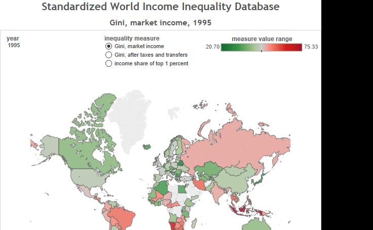 Colin Gordon Standardized World Income Inequality Database Inequality World Solt